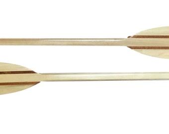 """Boat Paddles Deluxe Hardwood  - (Oar) ~  Choose Size 30"""" - 4'"""