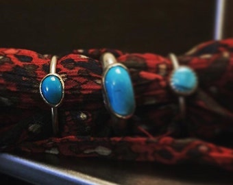 Daydreams - Turquoise ring (left) Size 8