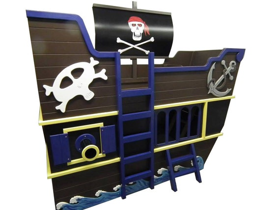Pirate Ship Bunk Bed Pirate Ship Theme Bunk Bed With  : il570xN995562925liao from amlibgroup.com size 570 x 428 jpeg 44kB
