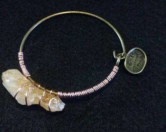 Citrine Bracelet.