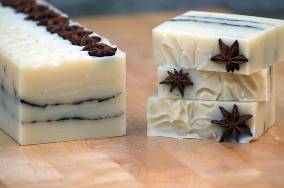 Star Anise all natural soap!