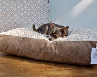 Moroccan Lattice Dog Bed (Small)