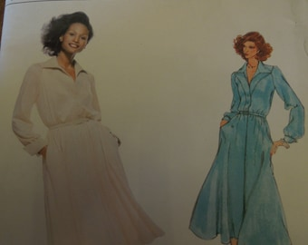 Vogue 2009,  UNCUT sewing pattern, dress for any occasion, misses, womens, sizes 14 1/2 to 22 1/2