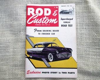 Rod & Custom February 1955 Little Pages Magazine