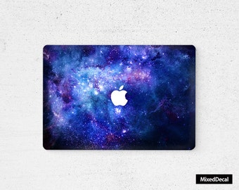 MacBook Air sticker Galaxy Apple MacBook Pro decal Laptop Decal MacBook sticker laptop sticker MacBook decal MacBook skin Decal Sticker
