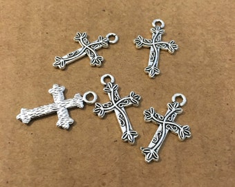 Cross charms (10  pieces)