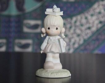 """Precious Moments by Enesco """"September"""" 1988 Porcelain Figurine"""