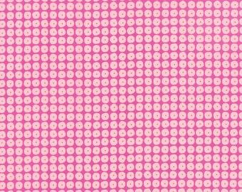 Flow Pearls Raspberry by Zen Chic for Moda, 1/2 yard, 1595 12