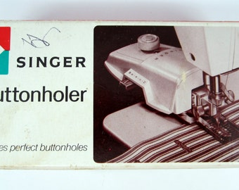 Singer Buttonholer 489510 For Vertical Needle Sewing Machines