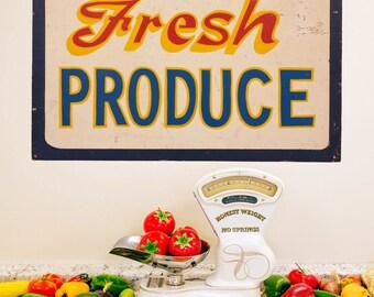 Fresh Produce Farm Stand Wall Decal - #53830