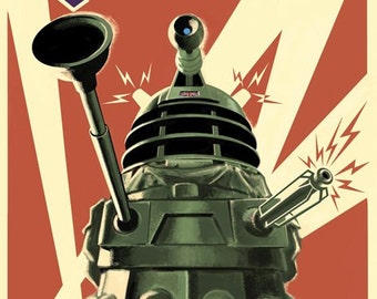 Doctor Who - Dalek to Victory - Poster