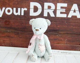 "Artist Teddy Bear ""Blue"""