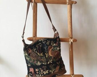 Brocade Animal Print bag