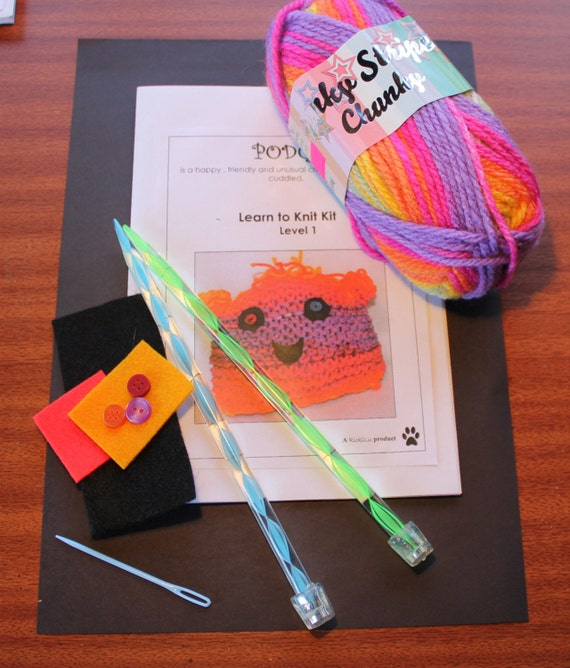 Knitting Kit For Beginners Singapore : Learn to knit knitting kit beginners