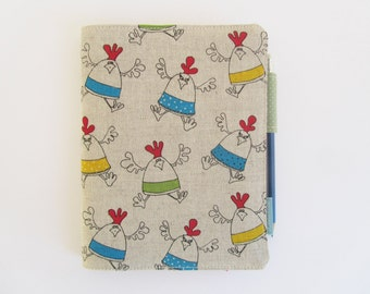 a5 notebook cover, a5 journal cover, book cover, teachers gift, fits hobonichi a5 and leuchturm 1917 notebooks