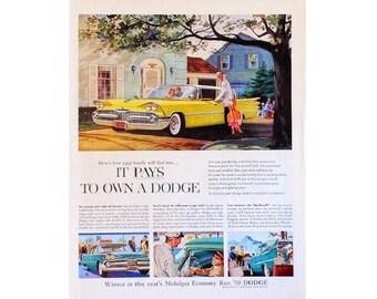 vintage advertisement for a 1959 Dodge - 8