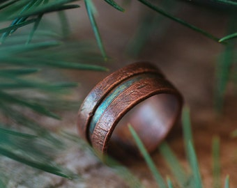 Copper Patina Ring