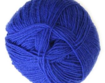 Navy Blue Knitca Sock Yarn, Superwash Merino Sock Yarn, Sock Weight Yarn