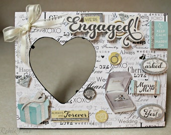 Engagement/ Engaged /Marry Me /Marriage/Ring/Picture frame