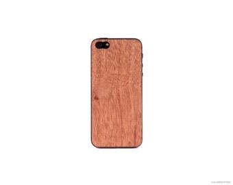 Real Mahogany iPhone 5 5s 4 4s Wood Skin
