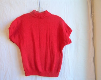 "red sweater by De Rotchild, 36"" chest"