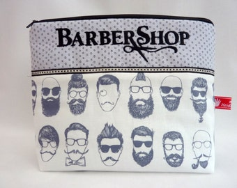 Cosmeticbag, Barber Shop, Mustache
