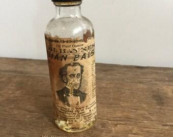 Vintage Dr Haynes Arabian Balsam Bottle