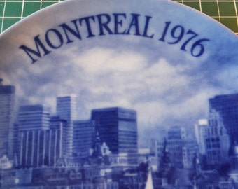 Montreal 76 Collectors Plate