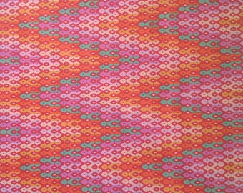 Tula Pink - Chipper The Wanderer. Sorbet Quilters cotton, patchwork fabric, modern colours