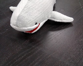 Sharky the friendly shark