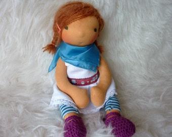 "Alishia 12"" Waldorf inspired Doll"