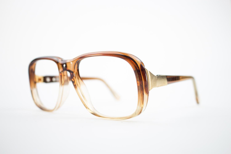 1e84a2e3578 Vintage 70s Aviator Eyeglasses