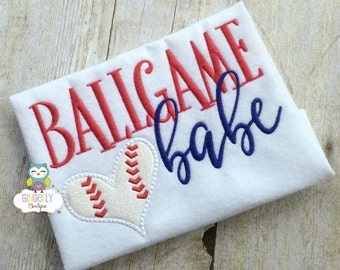 Ballgame Babe Shirt, Baseball Season, Softball Season, Love of Baseball, I Love Baseball, Out of Your League, Baseball