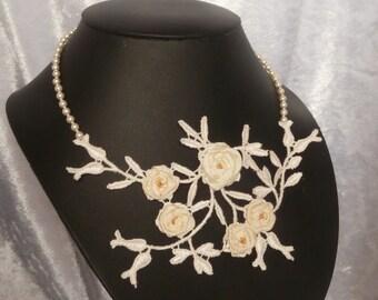 Jewelry-Wedding necklace 'Elodie'