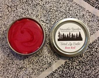 Rose Red Tinted Lip Balm