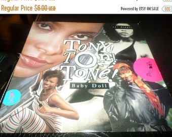 Save 30% Today Vintage 1988 Vinyl EP Record Tony Toni Tone Baby Doll Excellent Condition