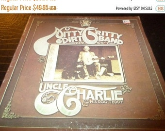 Save 70% Today Vintage 1970 Vinyl LP Uncle Charlie & His Old Dog Teddy Nitty Gritty Dirt Band Very Good Condition