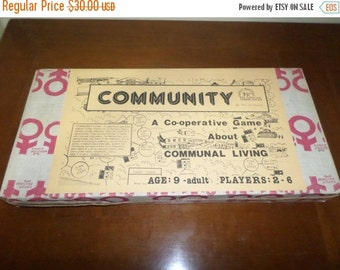 Save 10% Today Vintage 1985 Jim Deacove Community Board Game Family Pastimes 100 Percent Complete