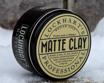 Lockhart's Professional Matte Clay