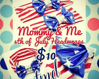 4th of July Headwraps