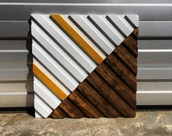 Wood Wall Art - Reclaimed Wood