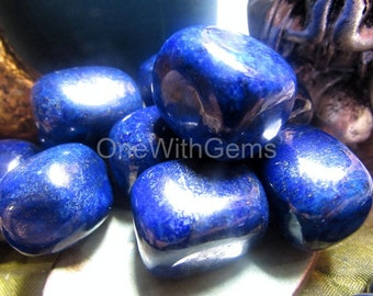 High Grade Lapis Lazuli Stone, A+ Quality, Enlightenment, Relieves Anger, Negative Thoughts, Opens The Channels To Connect To Your Angels