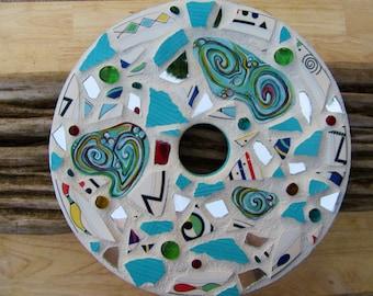Aqua Mirror Mosaic