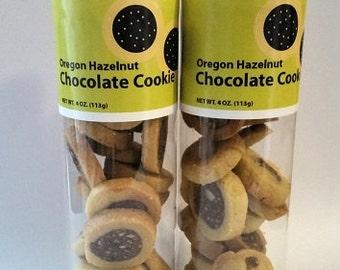 Oregon Hazelnut Chocolate Cookie 2 x 4 oz.