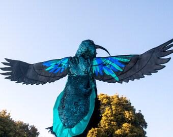 hummingbird costume handmade