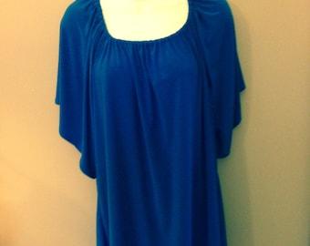 Royal Blue Knit Tunic