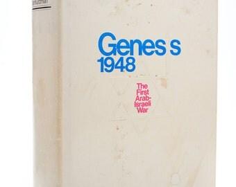 "Genesis 1948 The First Arab-Israeli War"" by Dan Kurzman-Signed 1st Ed. Rare!"