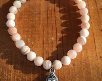 Moonstone Buddha Yoga Bracelet