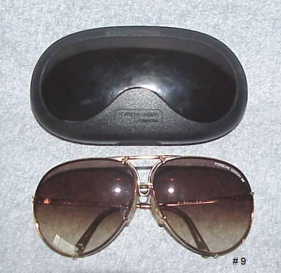 PORSCHE Design Sunglasses Gold Plated Frames by CARRERA 5623