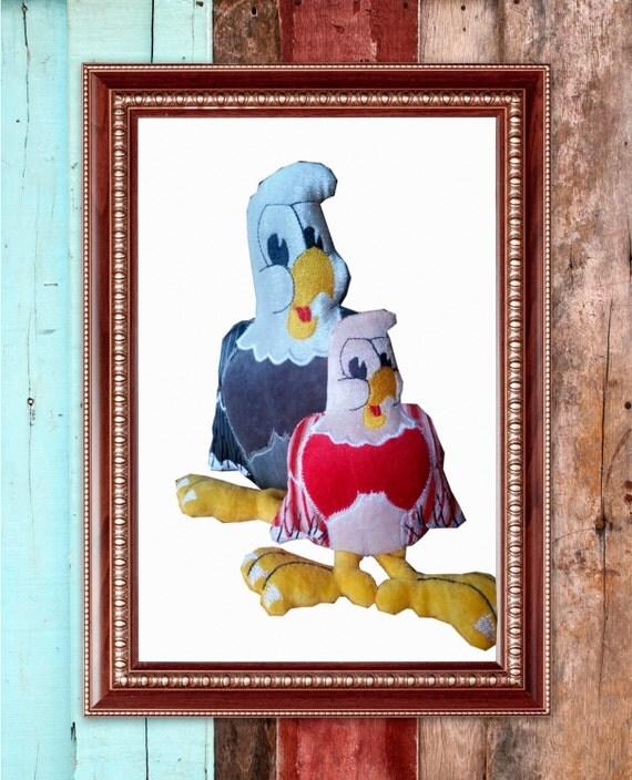 ith Bald eagle stuffie